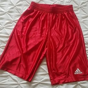 🆕Adidas Red Men's Athletic Shorts